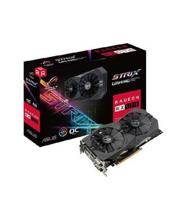 ASUS STRIX-RX570-O4G-GAMING RX570 4G VIDEO CARD