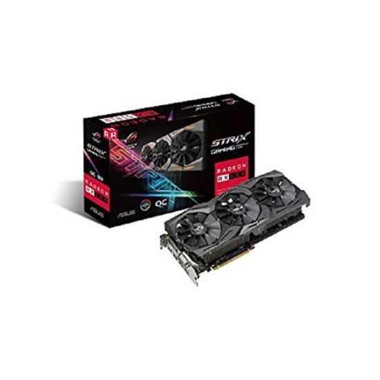 ASUS STRIX-RX580-O8G-GAMING RX580 OC 8G video card