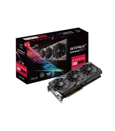 ASUS STRIX-RX580-T8G-GAMING RX580 8G Top Edition video card