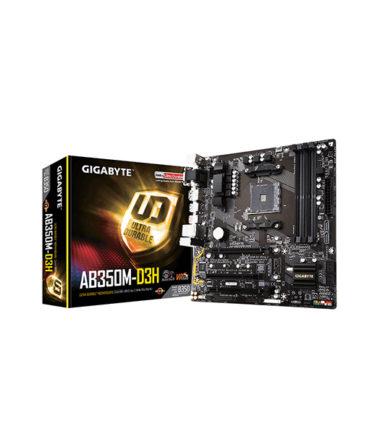GIGABYTE AB350M-D3H AM4 DDR4 MATX MOTHERBOARD