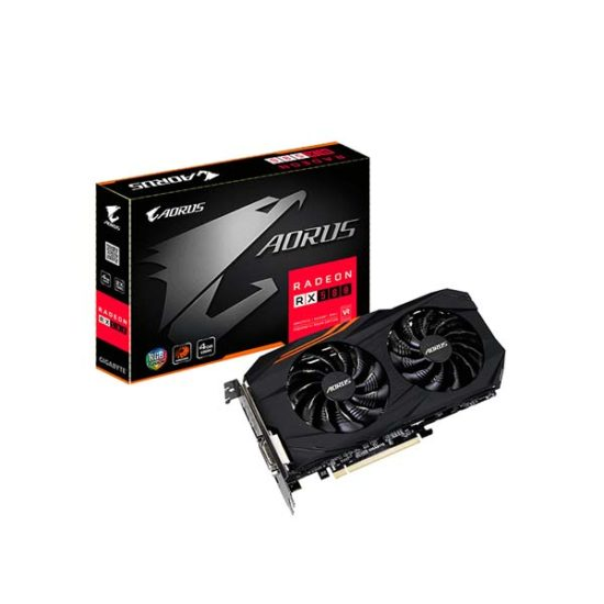 GIGABYTE RX580AORUS-4GD RX580 4GB VIDEO CARD