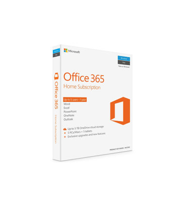 KEY ONLY EMAIL MICROSOFT Office 365 Home (1YR SUB)