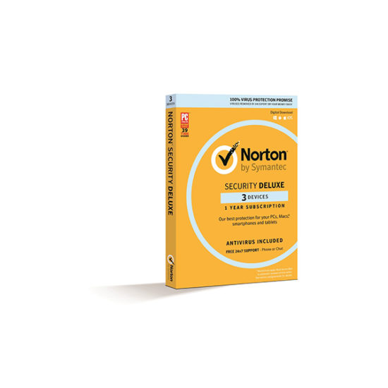 Norton Security Deluxe 3 Device 1 Year Email Key