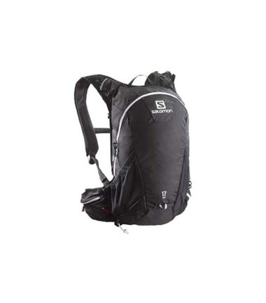 Salomon-Agile-17-ColourBlackIronWhite-Water-Backpack