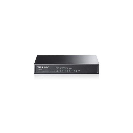TP-LINK-TL-SF1008P-8-port-10100-switch-4x-POE