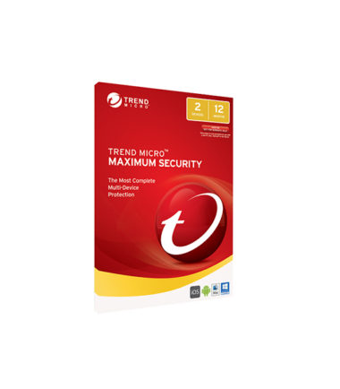 TREND MICRO MAXIMUM SECURITY (OEM, 2 DEVICES, 1 YR)