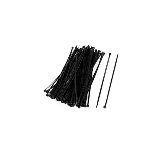 100 PCs BLACK CABLE TIES (2