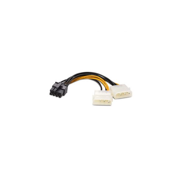4PIN MOLEX TO PCIE Power adator (6PIN or 8PIN)