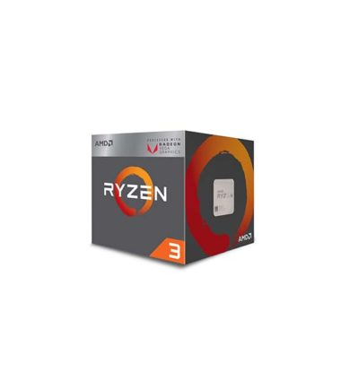 AMD RYZEN 3 2200G Quad core 3.7Ghz RX Vega graphics AM4