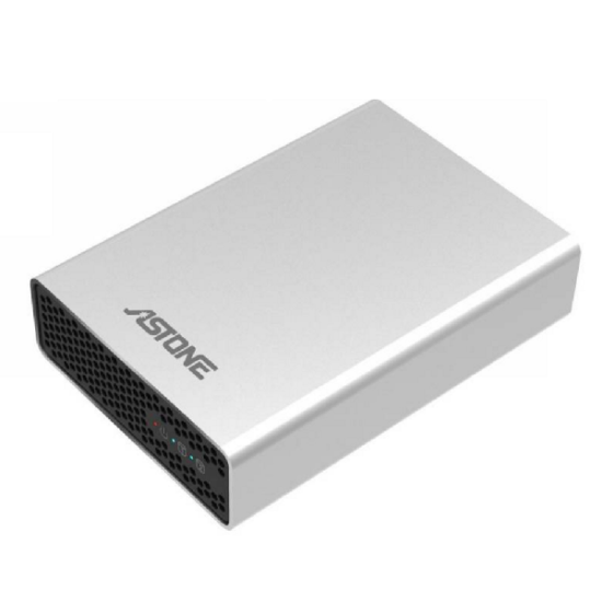 ASTONE RD-2570 2 Bay 2.5 USB3.1 EXT RAID CADDY