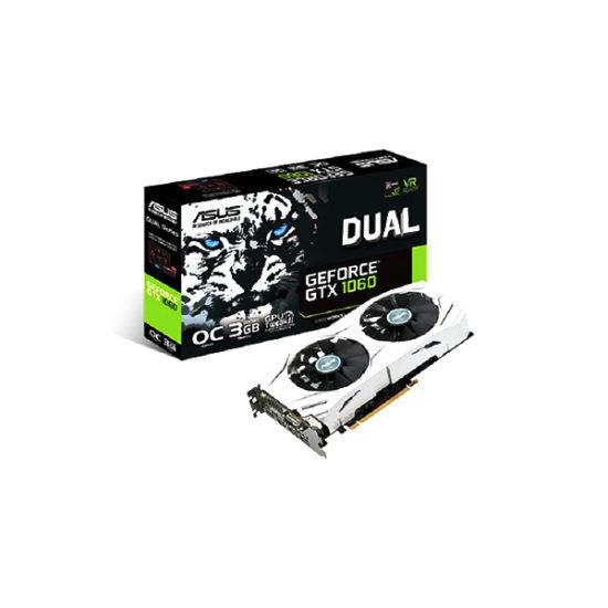 ASUS DUAL-GTX1060-O3G 3GB Video Card