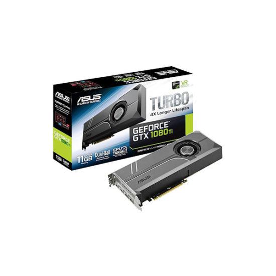 ASUS TURBO-GTX1080TI-11G GTX1080 Ti 11GB VIDEO CARD