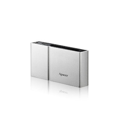 Apacer AM404 External USB2.0 Card Reader - Silver - USB2.0