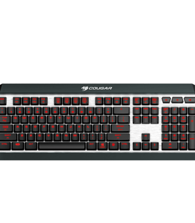 COUGAR ATTACK-X3-RED CHERRY MECHANICAL K:B (UIX)