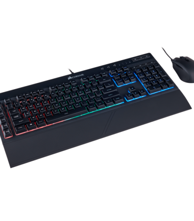Corsair CH-9206115-NA K55 RGB & HARPOON Gaming K:B & Mouse