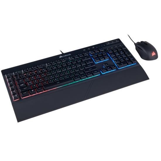 Corsair CH-9206115-NA K55 RGB & HARPOON Gaming K:B & Mouse