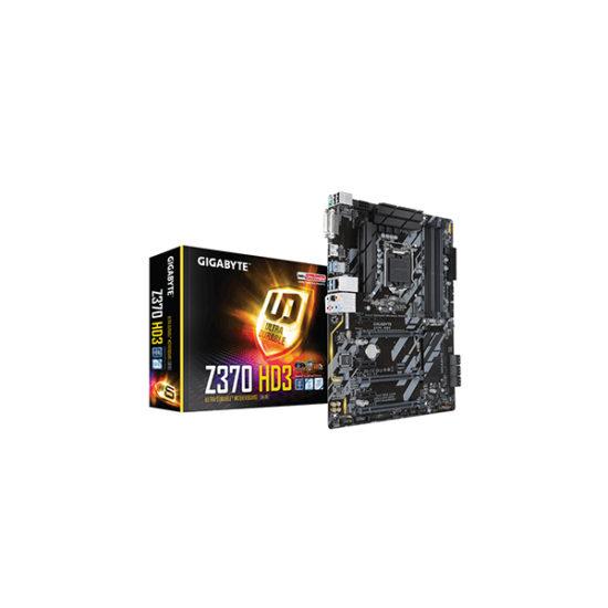 Gigabyte GA-Z370-HD3 Motherboard ATX 8th Gen CPU only