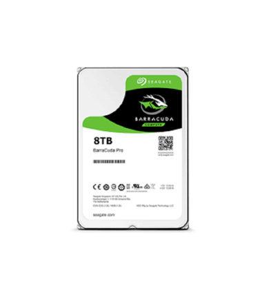 "SEAGATE 8TB ST8000DM005 BARRACUDA PRO 3.5"" SATA HDD"