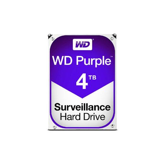 WESTERN DIGITAL 4TB PURPLE WD40PURZ SURVEILLANCE