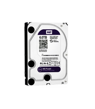 "WD 6TB PURPLE WD60PURZ 3.5"" Surveillance HDD"
