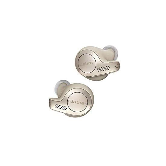 Jabra Elite 65T Bluetooth Headset Copper Gold Beige