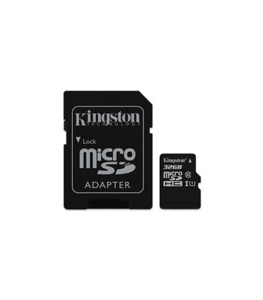 KINGSTON SDCS32GB 32GB Micro SD Card + SD Adapter