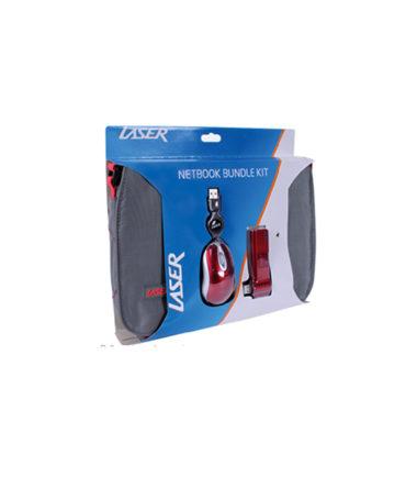 LASER PK-10BUNDLE-GR KIT - 10 INCH BAG, MOUSE & USB HUB
