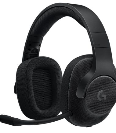 LOGITECH G433 WIRED 7.1 SURROUND SOUND GAMING HEADSET BLACK