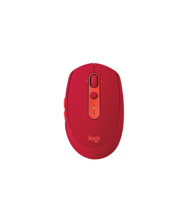 LOGITECH M585 WIRELESS MOUSE - RUBY RED