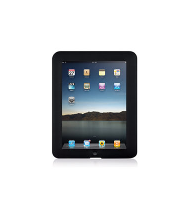 Laser IR-IPADGRIP-BLK Silicon Case for Apple iPad 1 Black