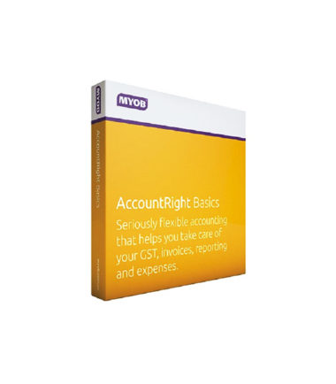 MBSUB-RET-AU MYOB AccountRight Basics - 1yr Subscription