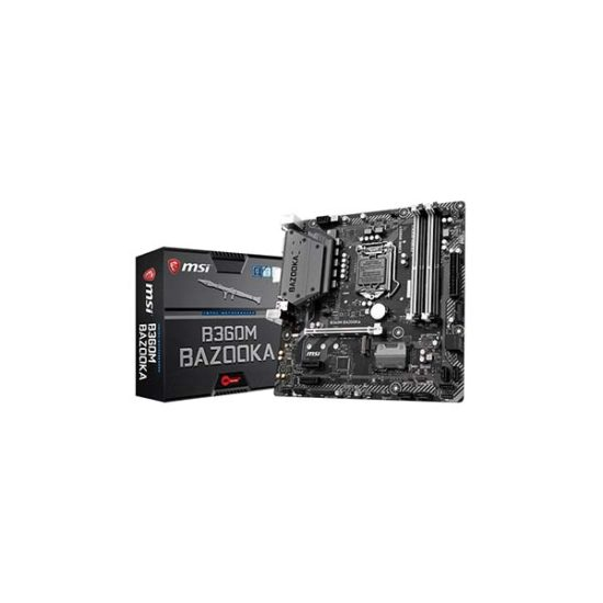 MSI B360M BAZOOKA B360 8th gen motherboard