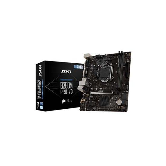 MSI B360M PRO-VD B360 8th gen motherboard