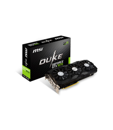 MSI GEFORCE GTX 1070 DUKE 8G OC Video Card
