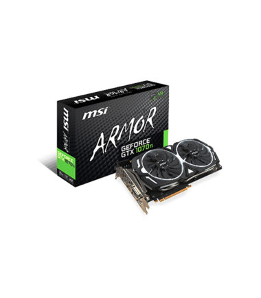 MSI GEFORCE GTX 1070 TI ARMOR 8G Video Card