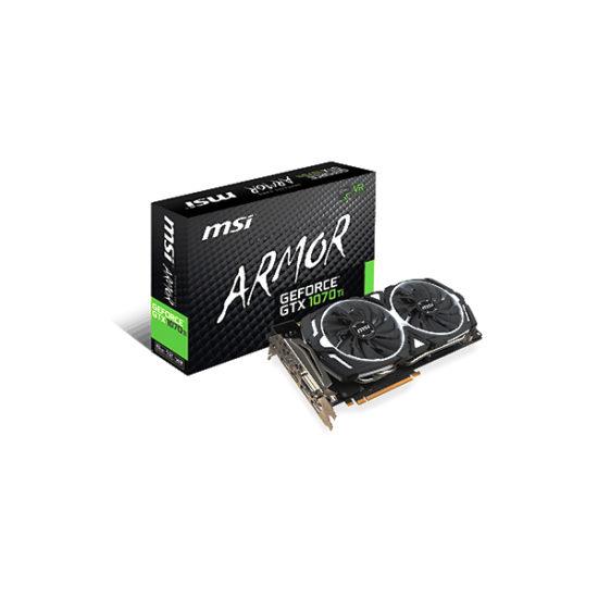 MSI GEFORCE GTX 1070 TI ARMOR 8G Video Card