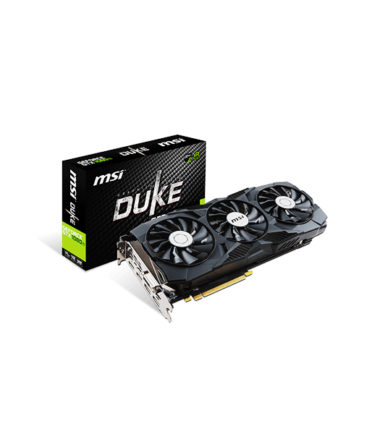 MSI GEFORCE GTX 1080 TI DUKE 11G OC Video Card