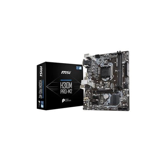 MSI H310M PRO-M2 H310 8th gen M.2 motherboard DVI, HDMI, VGA