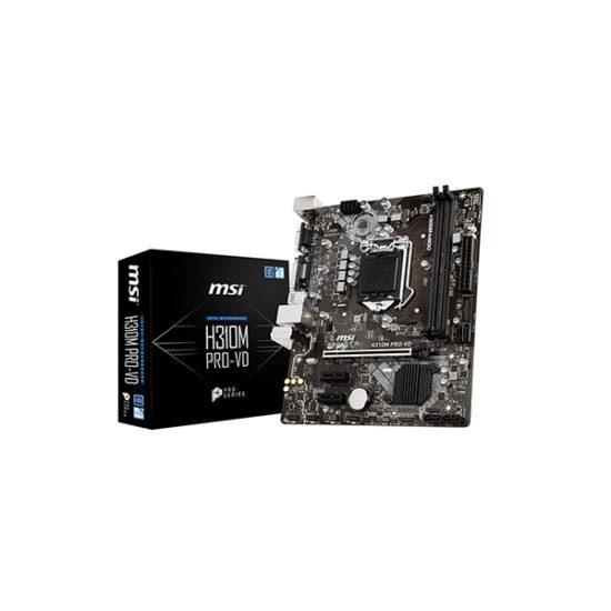 MSI H310M PRO-VD H310 8th gen motherboard DVI, VGA