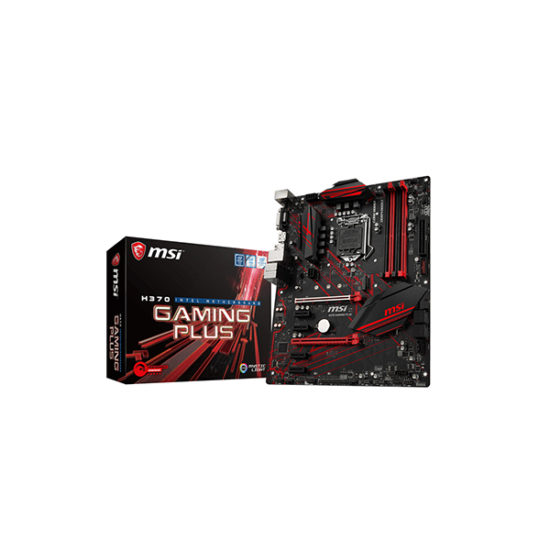 MSI H370 GAMING PLUS 8th gen motherboard