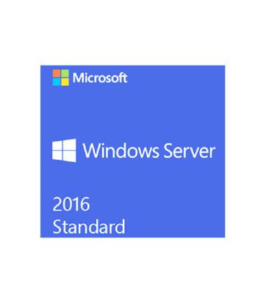 P73-07113 Windows Server Std 2016 64Bit DVD - 16 CORE