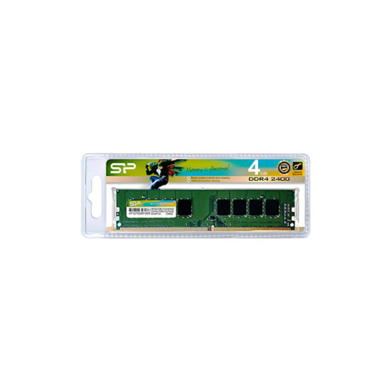 SILICON POWER 4GB D4-2400 SP004GBLFU240N02 memory