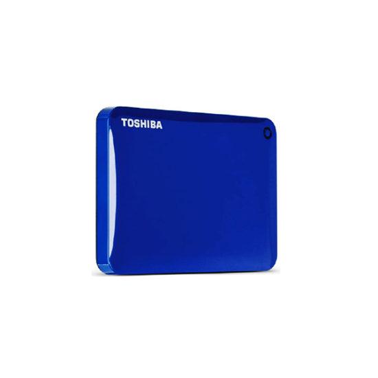 TOSHIBA HDTC820AL3C1 BLUE 2TB CONNECT II PORTABLE EXT HDD