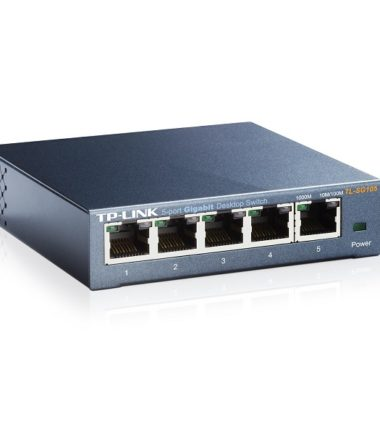 TP-LINK TL-SG105 5 PORT GIGABIT SWITCH