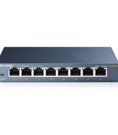 TP-LINK TL-SG108 8 PORT GIGABIT SWITCH