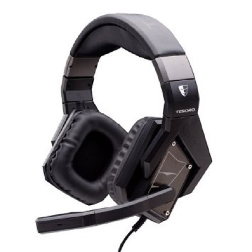 Tesoro Kuven Devil A1 7.1 Virtual Gaming Headset - Black