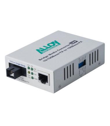 100Mbps Standalone/Rackmount Media Converter 100Base-TX to 100Base-FX 1310nm WDM, 80Km