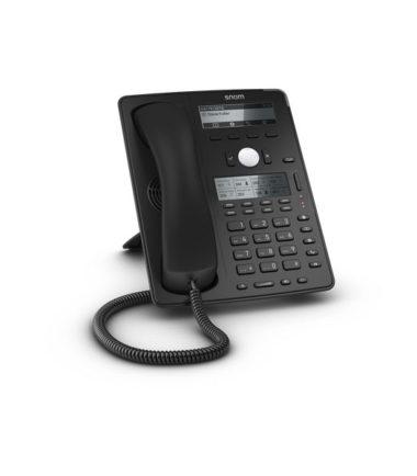 12 Line Professional IP Phone, Gbit port + 1x USB port. 18 LED function keys. Hi-res colour display. Wideband audio