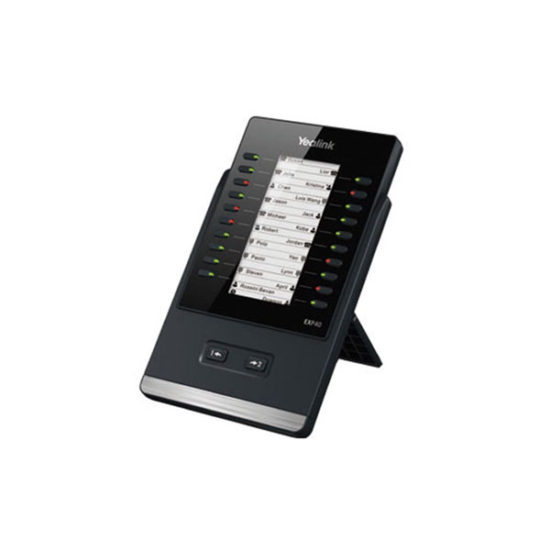 160x320 Dual Screen LCD Expansion Module 20 Buttons/Dual LEDs, 40 Softkey Functions