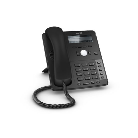 4 Line Professional IP Phone, Gbit port + 1x USB port. 4 context-sensitive function keys. Wideband audio